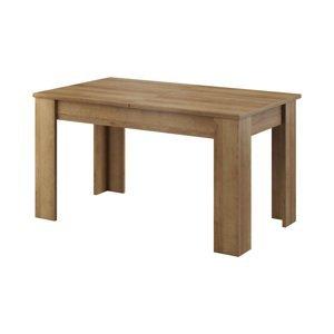 Piaski Rozkladací jedálenský stôl Sky L140 Farba: Dub riviera