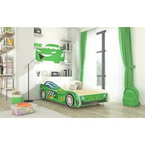 ArtAdr Detská auto posteľ SPEED 140 x 70