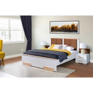 ArtBed Manželská posteľ Vigo Prevedenie: 180 x 200 cm