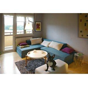 New Design  Sedacia súprava / posteľ Dolce Rozmer.: 110 x 80 cm