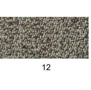 New Design  Čalúnená posteľ NOVO s čelami, Ľavá varianta + topper Prevedenie: 90 x 200 skladová zásoba + topper , prevedenie 12/12 E5