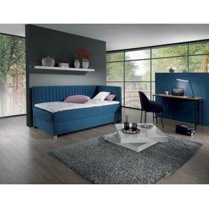 New Design  Čalúnená posteľ NOVO s čelami, Pravá varianta Rozmer.: 90 x 200 cm