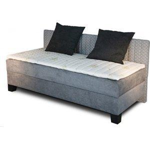 New Design  Čalúnená posteľ NOVO s dlhým čelom Rozmer.: 90 x 200 cm