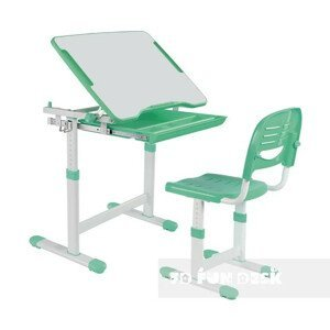 Fundesk Rastúci stôl PICCOLINO + stolička Farba: Zelená