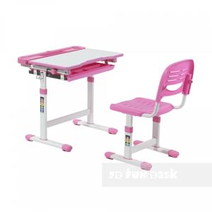 Fundesk Rastúci stôl CANTARE + stolička Farba: Ružová