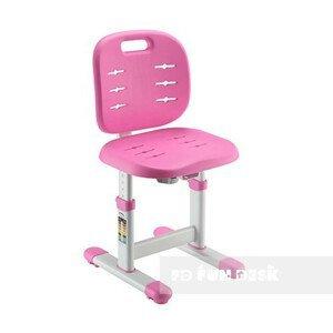 Detská nastaviteľná stolička FUNDESK SST2 Farba: Ružová