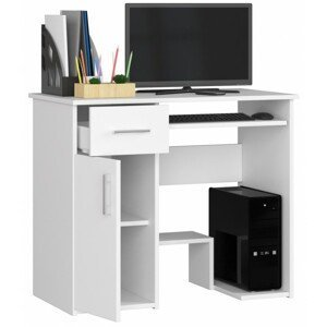 ArtAko Písací stolík JAY Farba: Biela