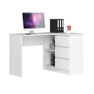ArtAko Písací stolík Clips B16 Farba: Sivá, Prevedenie: ľavé
