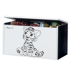 ArtBoo Truhlica na hračky BABY BOO Hnedá: Tigrík