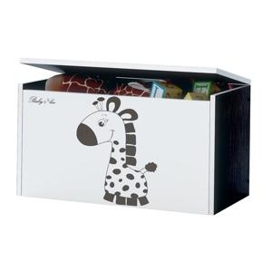 ArtBoo Truhlica na hračky BABY BOO Hnedá: Žirafka