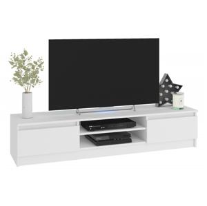 ArtAko TV stolík Clips K160 Farba: Biela