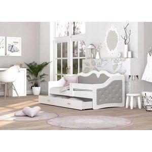 ArtAJ Detská posteľ LILI K | Trinity 160 x 80 cm Farba: Sivá
