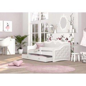 ArtAJ Detská posteľ LILI K | Trinity 180 x 80 cm Farba: Biela