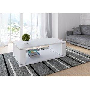 ArtAdr Konferenčný stolík LILIANA Farba: biely mat