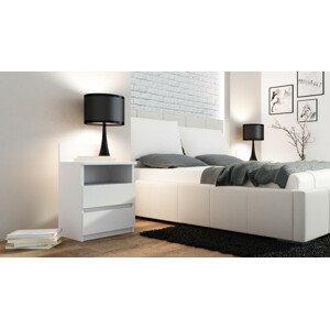 ArtAdr Nočný stolík PUNA M1 Farba: Biela