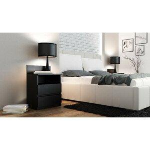 ArtAdr Nočný stolík PUNA M1 Farba: Čierna