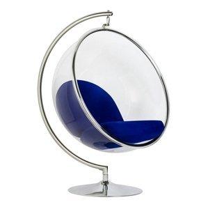 ArtKing Kreslo BUBBLE STAND Farba: Modrá