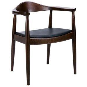 ArtKing Jedálenská stolička KENNEDY Farba: Tmavo-hnedá
