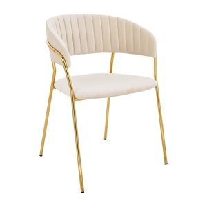 ArtKing Jedálenská stolička MARGO Farba: Béžová