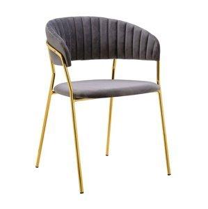 ArtKing Jedálenská stolička MARGO Farba: Sivá