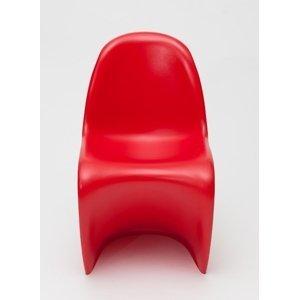 ArtD Detská stolička Balance Junior inšpirovaná Panton Junior Farba: Červená