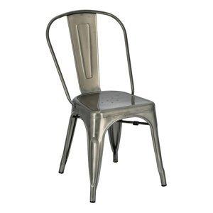 ArtD Jedálenská stolička Paris inšpirovaná Tolix Farba: Kovová