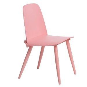 ArtD Jedálenská stolička Rosse Farba: Ružová