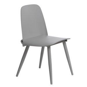 ArtD Jedálenská stolička Rosse Farba: Sivá