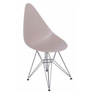 ArtD Jedálenská stolička Rush DSR Farba: Béžová