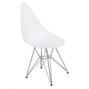 ArtD Jedálenská stolička Rush DSR Farba: Biela