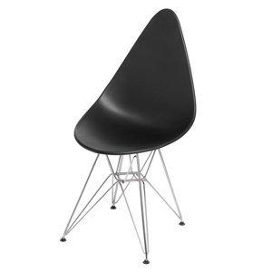 ArtD Jedálenská stolička Rush DSR Farba: Čierna