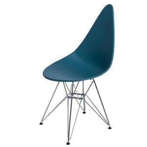 ArtD Jedálenská stolička Rush DSR Farba: Modrá