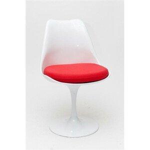 ArtD Jedálenská stolička Tul inšpirovaná Tulip Chair Farba: Červená