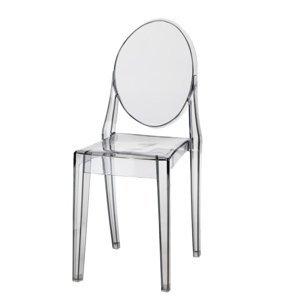 ArtD Jedálenská stolička Viki inšpirovaná Victoria Ghost Farba: Sivá