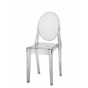 ArtD Jedálenská stolička Viki inšpirovaná Victoria Ghost Farba: Transparentná