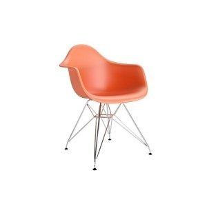 ArtD Stolička P018 /inšpirovaná DAR/ oranžové