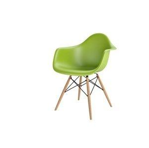 ArtD Stolička P018W /inšpirovaná DAR/ zelená