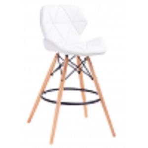 ArtKing Barová stolička Klipp biela