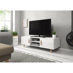 WIP TV stolík SWEDEN 2 biely