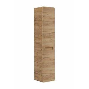 ArtCom Kúpeľňová zostava ARUBA Craft   dub craft zlatý Dominika: Vysoká skrinka s košom na prádlo Aruba Craft 804 -170 x 35 x 35 cm