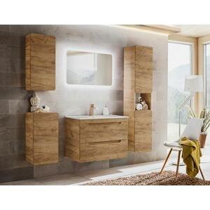 ArtCom Kúpeľňový komplet Aruba Craft 80   dub craft zlatý