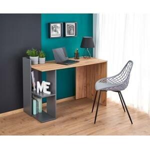 Halmar Písací stolík FINO Prevedenie: sivá/ dub wotan