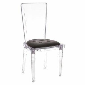 ArtD Jedálenská stolička Prince Grey Velvet