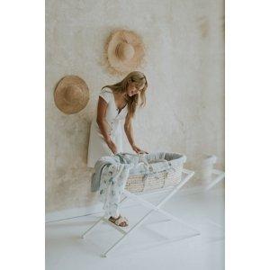 Bellamy Mušelinová sada|Detský košík PERCY MEEKO Farba: Poppy