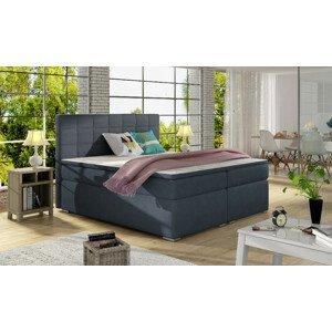 Artelta Manželská posteľ ALICE Boxspring   140x200 cm Alice rozmer: 140x200 cm, Alice farba: Soro 76