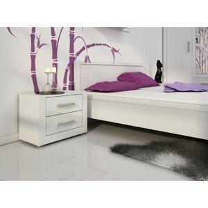 WIP Nočný stolík VIKI 14 biely výpredaj