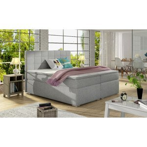 Artelta Manželská posteľ ALICE Boxspring   160x200 cm Alice rozmer: 160x200 cm, Alice farba: Sawana 21