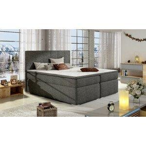 Artelta Manželská posteľ BOLERO Boxspring   140x200 cm Bolero rozmer: 140x200 cm, Bolero farba: Sawana 05