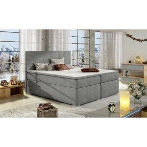 Artelta Manželská posteľ BOLERO Boxspring   140x200 cm Bolero rozmer: 140x200 cm, Bolero farba: Sawana 21