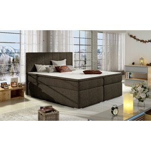 Artelta Manželská posteľ BOLERO Boxspring   140x200 cm Bolero rozmer: 140x200 cm, Bolero farba: Sawana 26